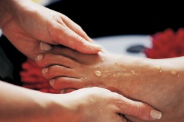 Treat yourself to a professional pedicure